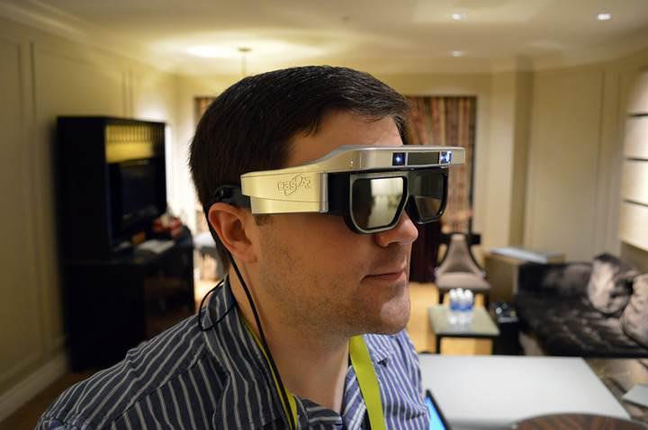 Gelecekteki AR gözlüklerinde MicroLED ekran kullanılacak