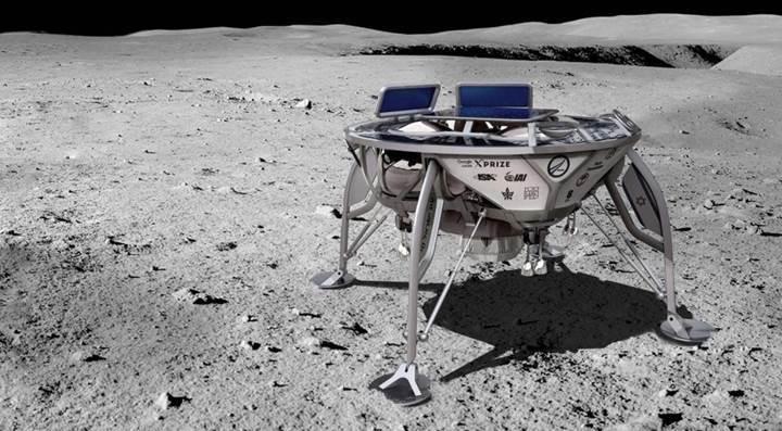 İsrailli şirket, Ay'a iniş yaparak tarihte bir ilki gerçekleştirecek