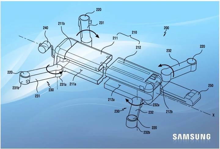 Samsung drone pazarına giriş için hazırlık yapıyor