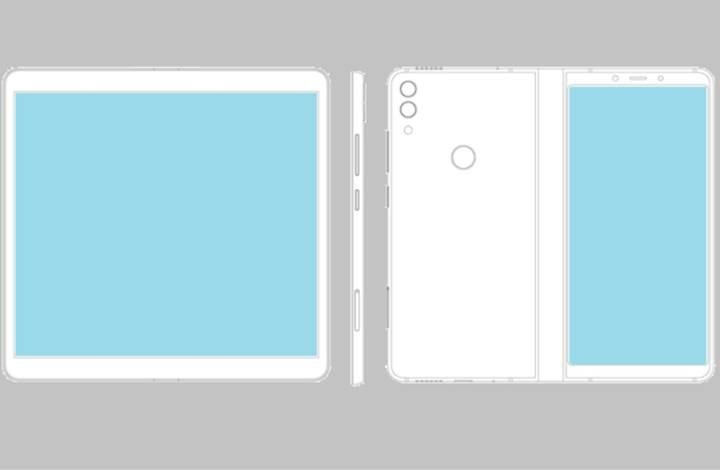 ZTE katlanabilir bir telefon için patent başvurusu yaptı