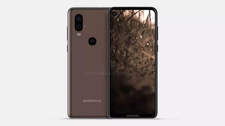 Delikli ekrana sahip Motorola P40'ın görüntüleri yayınlandı
