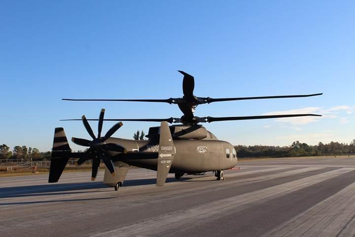 Sikorsky ve Boeing'den hız rekoru kıracak sıra dışı helikopter: SB>1 Defiant