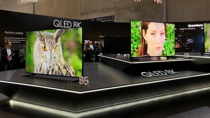 Teknoloji şirketleri 2019 yılında 8K TV üretimini arttıracak