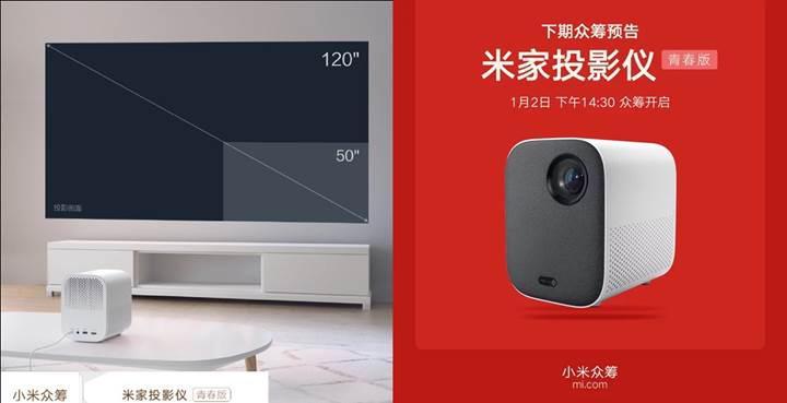 Xiaomi lazer projeksiyon cihazının daha düşük donanımlı Lite versiyonunu hazırlıyor