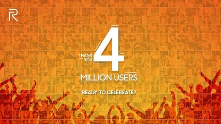 Realme 4 milyon akıllı telefon satışına ulaştı