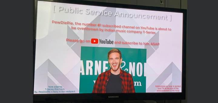 PewDiePie hayranı hackerlar bu kez Google cihazlarına yöneldi