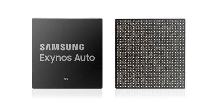 Samsung, otomobiller için geliştirdiği Exynos Auto V9 yonga setini duyurdu