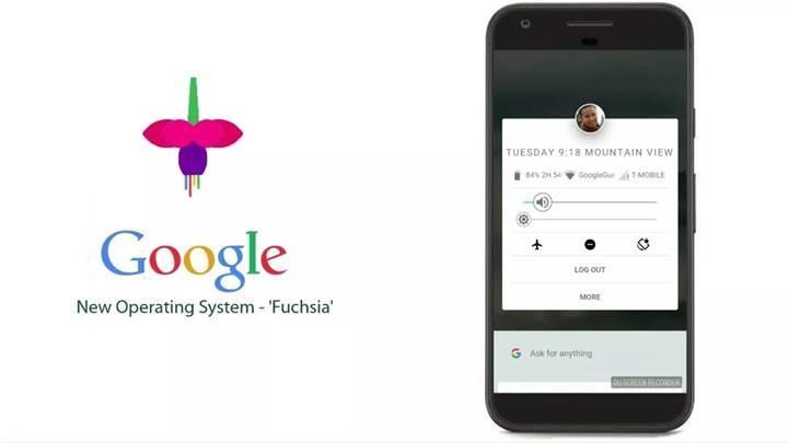 Google tarafından geliştirilen Fuchsia OS, Android uygulamalarını çalıştırabilecek