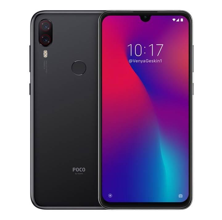 Xiaomi Pocophone F2 için konsept bir tasarım hazırlandı