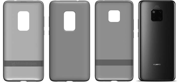 Huawei Mate 30 Pro kılıf patentleri 5 arka kameraya işaret ediyor