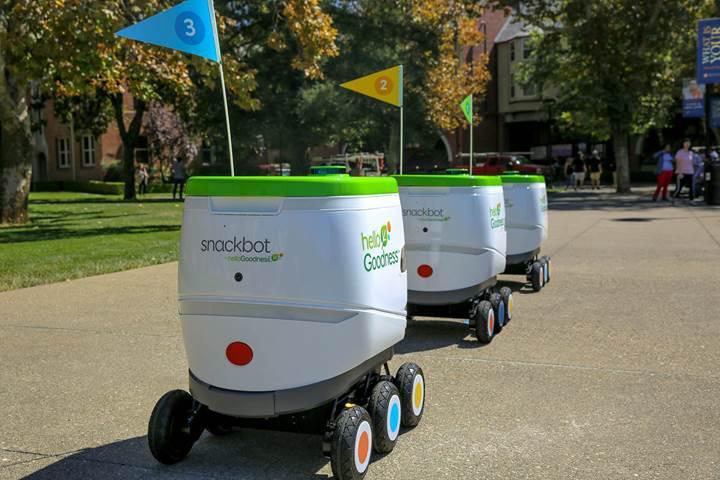 PepsiCo'dan abur cubur dağıtan robot