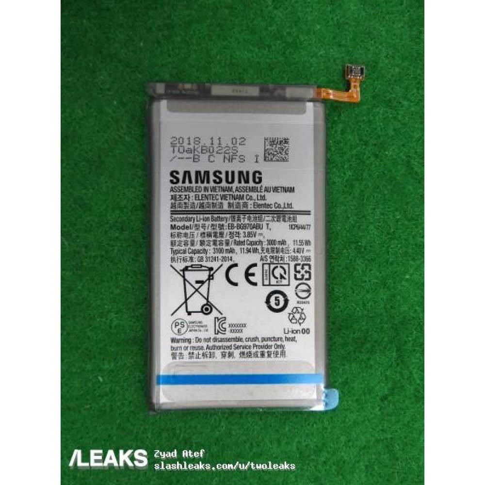 Samsung Galaxy S10 Lite'ın pili ortaya çıktı