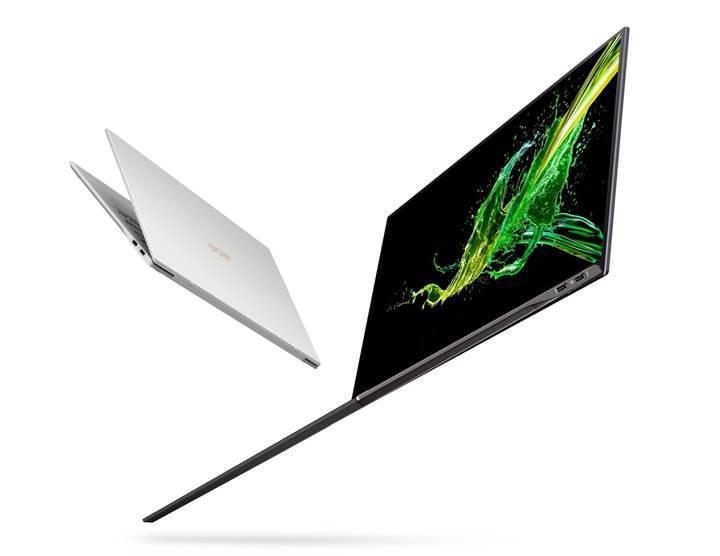 Yeni Acer Swift 7 daha ince ve daha hafif