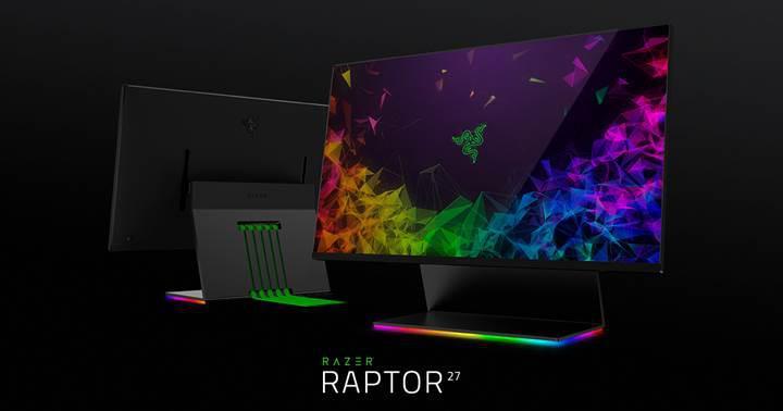 Razer Raptor oyuncu monitörü duyuruldu