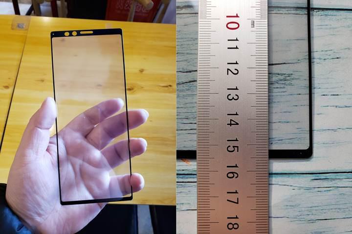Sony Xperia XZ4'ün 21:9 en boy oranına sahip ekran panelinden yeni görüntüler