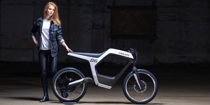 NOVUS, CES 2019'da 40 bin dolarlık elektrikli motosikletini tanıttı
