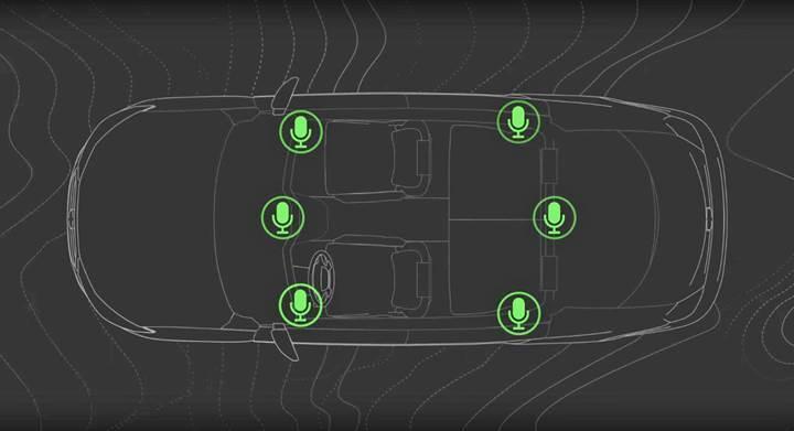 Bose aracın dışından gelen gürültüleri engelleyecek