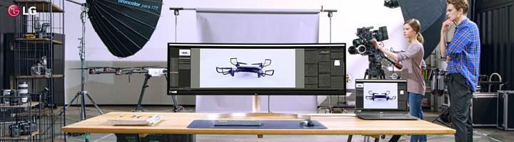 LG'den profesyoneller için ultra geniş monitör