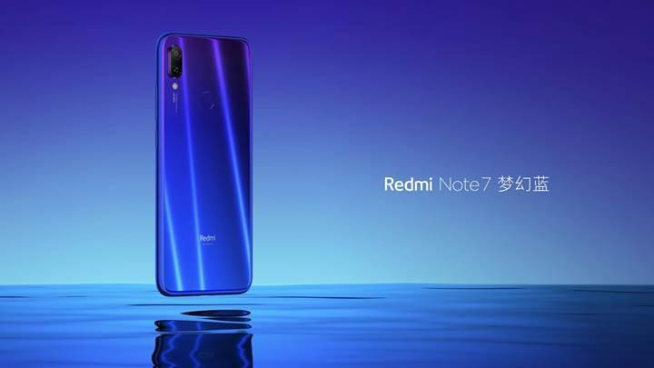 Redmi Note 7 tanıtıldı: 48 MP kamera, uygun fiyat