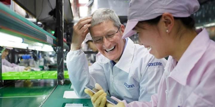 Foxconn, düşük iPhone satışları nedeniyle gelir kaybı yaşıyor