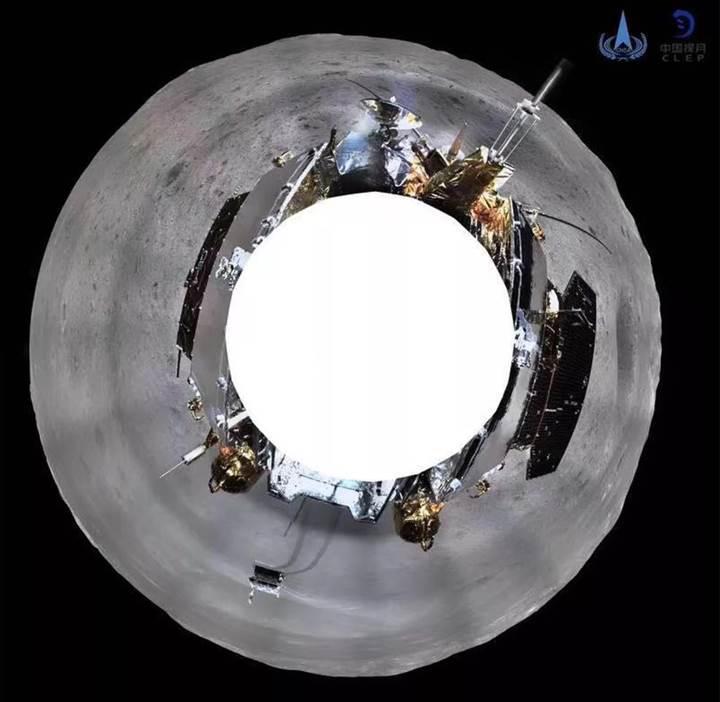 Çin, Ay'ın uzak yüzünden panoramik fotoğraf paylaştı
