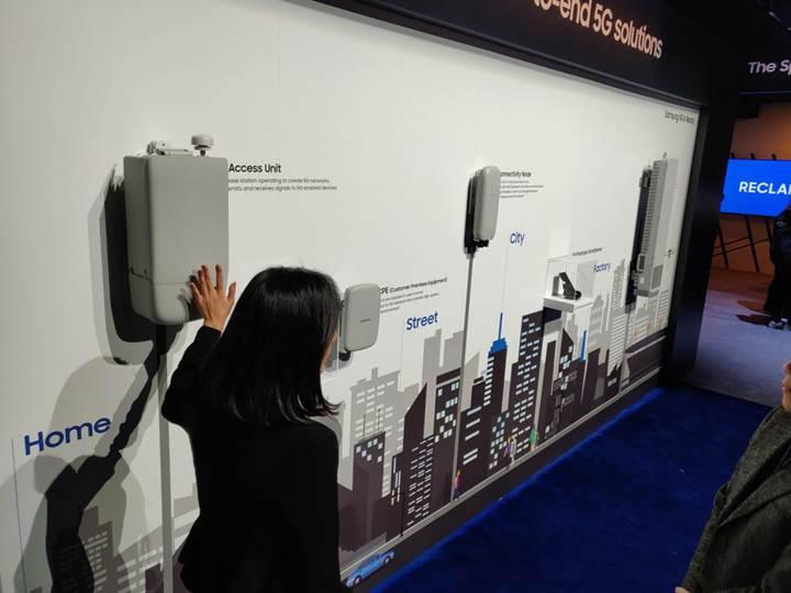 Samsung'un 5G özellikli telefonu CES 2019'da sergilendi