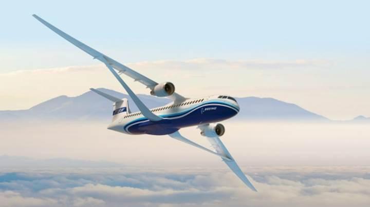 Boeing'den sıra dışı transonik kanat tasarımına sahip uçak