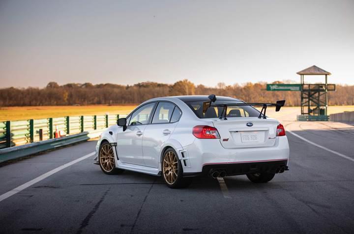 Subaru'nun 341 beygirlik özel versiyonu STI S209 tanıtıldı