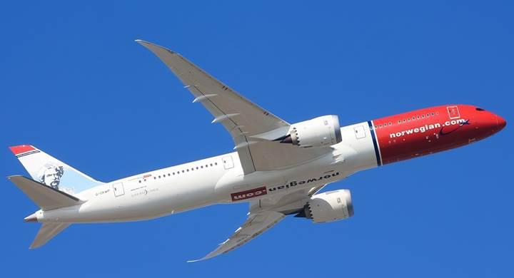 Norwegian Air, uzun menzilli uçuşlarda ücretsiz Wi-Fi hizmeti sunmaya başlayan ilk ucuz havayolu oldu