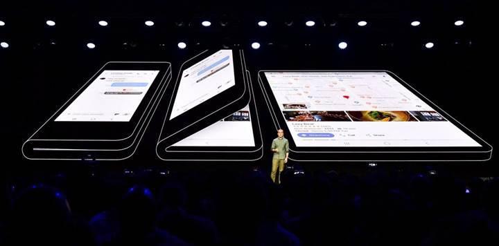 Samsung yöneticisi katlanabilir telefon açıklaması
