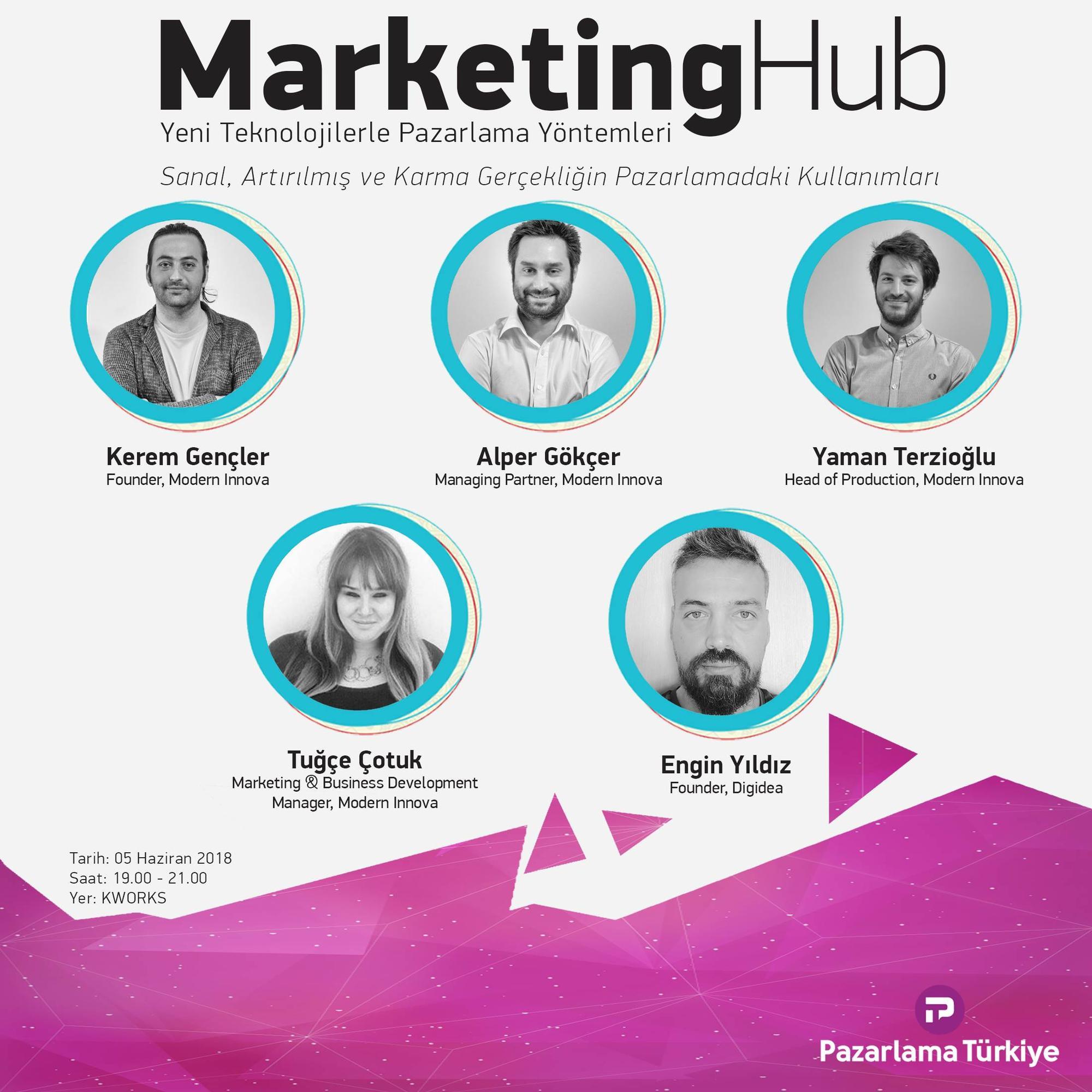 Marketing Hub 5 Haziran'da sanal gerçeklik konusunu ele alıyor!