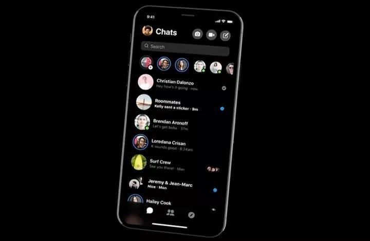Facebook Messenger'ın yeni tasarımı yayınlandı