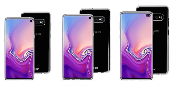 Samsung S10 modellerinin arka yüzü detaylandı! 4 arka kamera A9'a has oluyor