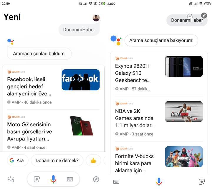 Google Asistan'ın yeni tasarımı yayınlandı