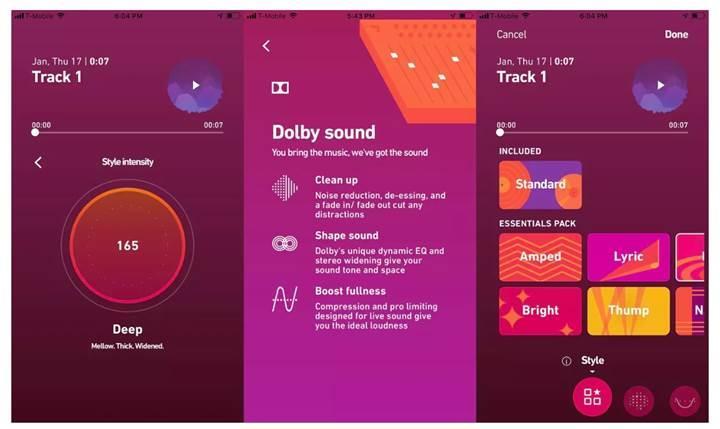 Dolby, kaliteli ses kaydı yapabilen bir uygulama geliştiriyor