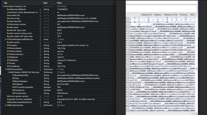MacOS Mojave betasında Navi GPU kodları gün yüzüne çıktı