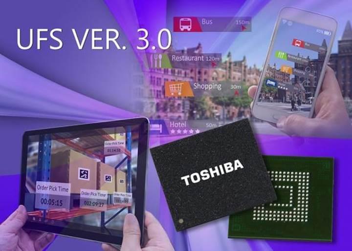 Toshiba sektörün ilk UFS 3.0 belleğini duyurdu