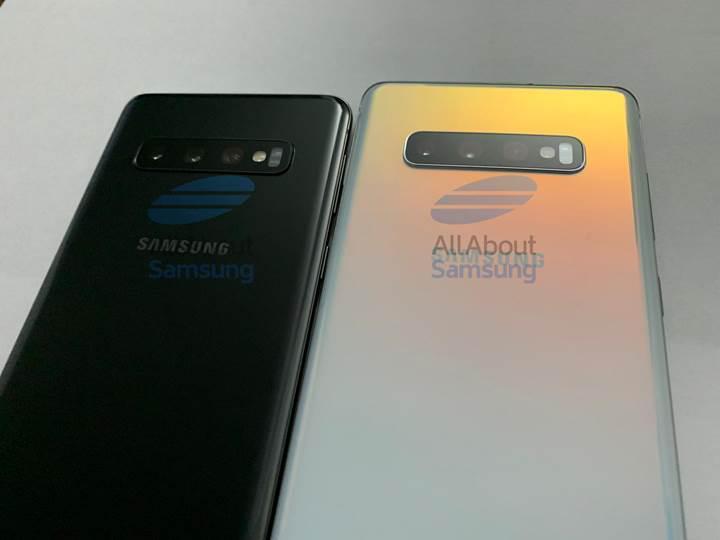 Galaxy S10 ve S10 Plus'ın şimdiye kadarki en net görselleri yayınlandı