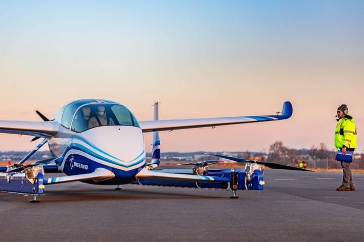Boeing'in otonom uçan taksisi ilk uçuşunu tamamladı