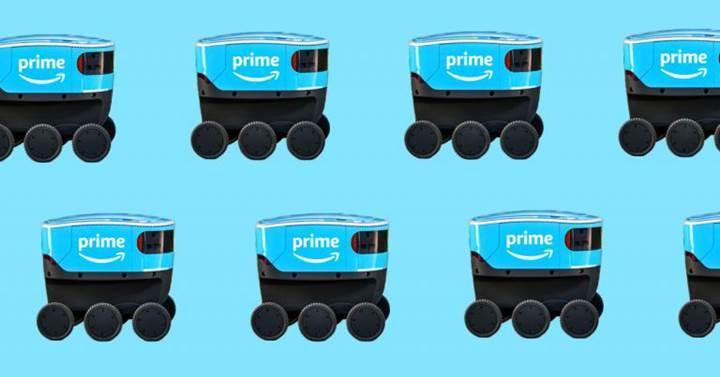Amazon'un teslimat robotları hizmete başlıyor