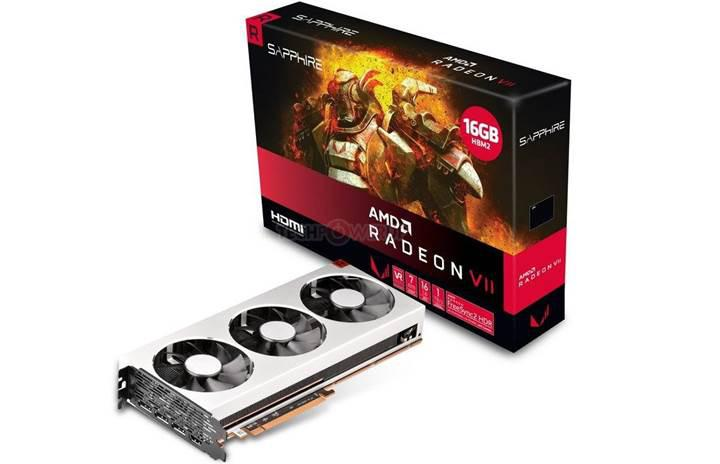 Sapphire Radeon VII ekran kartı satışa çıkıyor