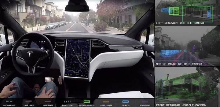 Elon Musk: 360 derece kamera Tesla'nızı güvende tutacak