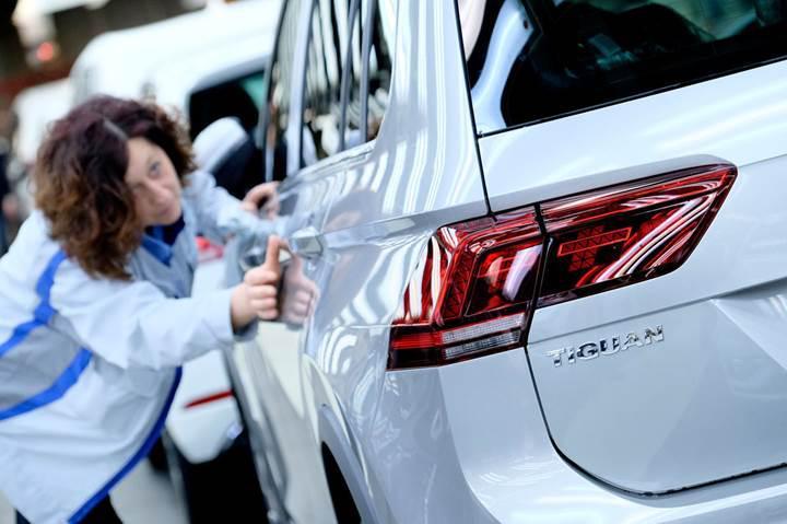 Volkswagen beş milyonuncu Tiguan'ı banttan indirdi