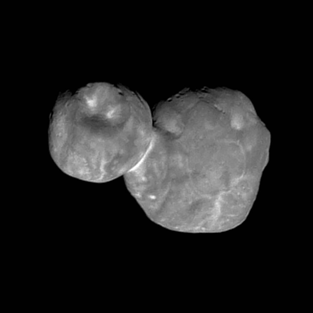 NASA, Ultima Thule'un şimdiye kadarki en net görüntüsünü yayınladı