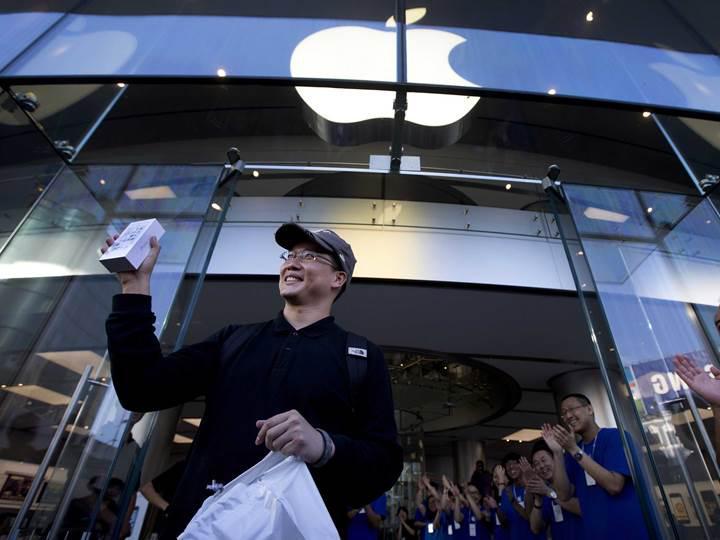 Apple'ın Çin'e iPhone sevkiyatı yıllık yüzde 22 azaldı
