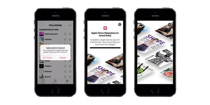Apple News uygulamasına abonelik servisi eklenecek