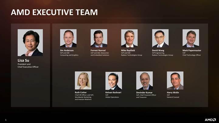 AMD üst yönetici kadrosunda büyük değişim