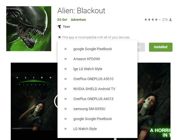 Google Play Store web sitesinde garip bir sorun yaşanmaya başladı