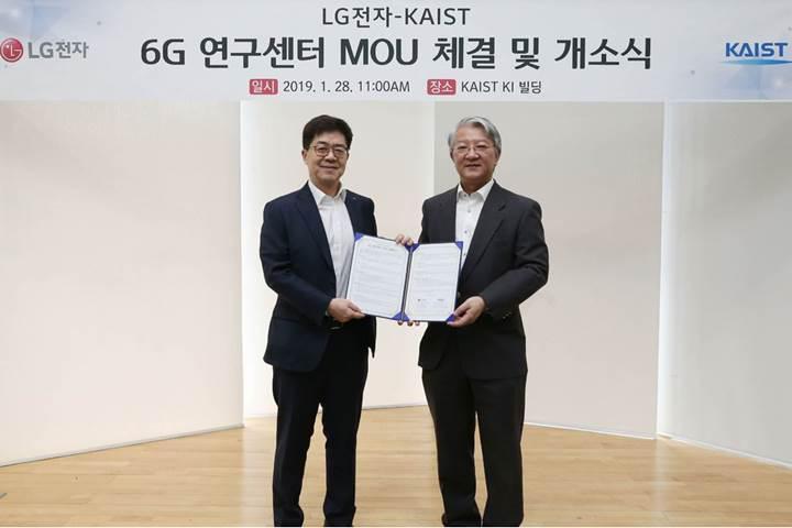 LG, 6G araştırmalarına başlıyor