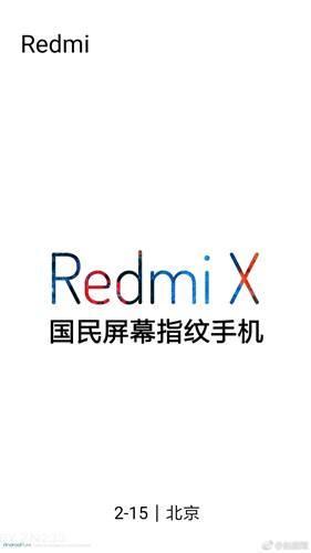 Ekrandan parmak izi okuma özellikli bütçe dostu Redmi X geliyor